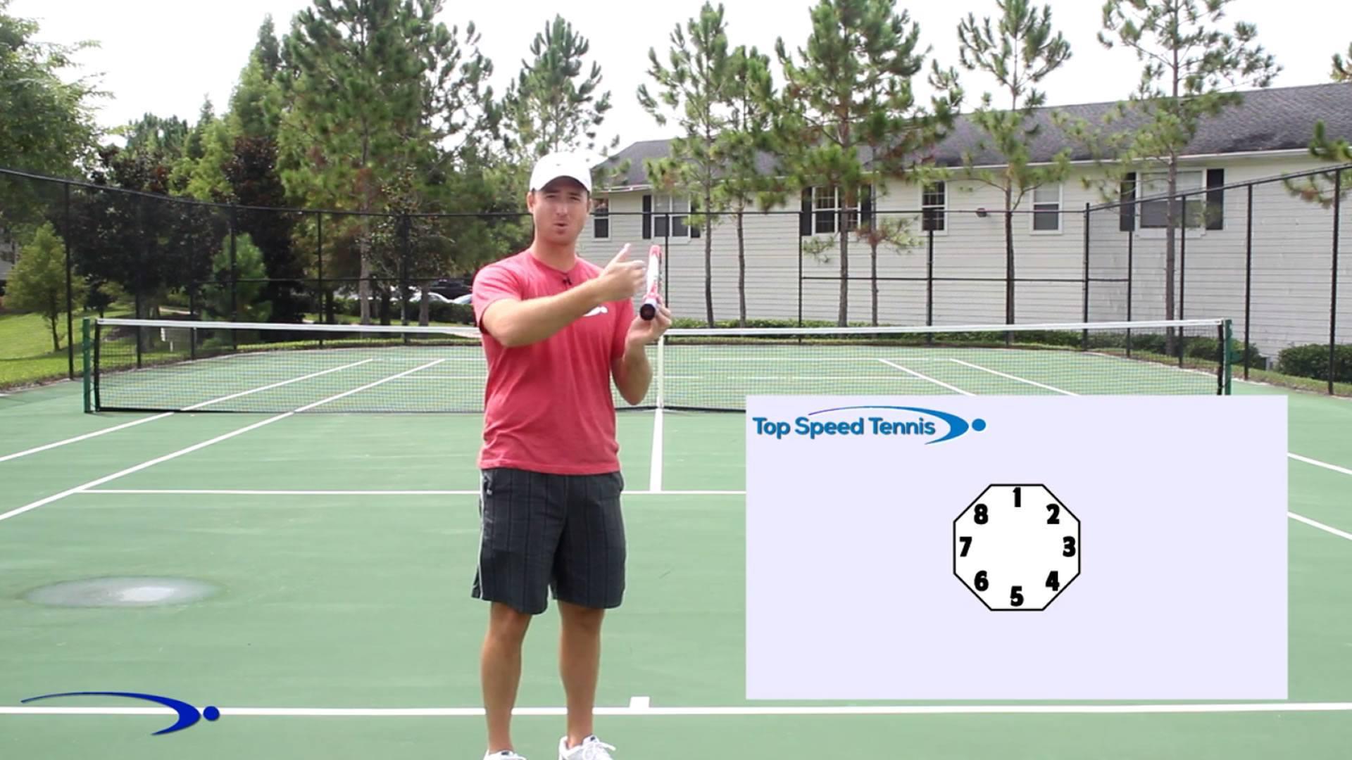 online tennis instruction serve