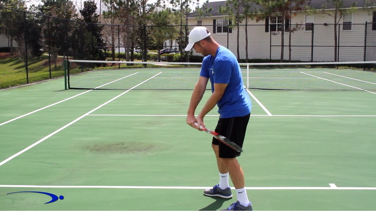 21 Two Hand Backhand Lag Snap