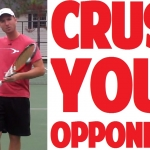 mental tougness in tennis Here's the big secret about mental toughness on the tennis court: stop thinking  about your next shot and get physical instead as bill wright, former men's tennis .