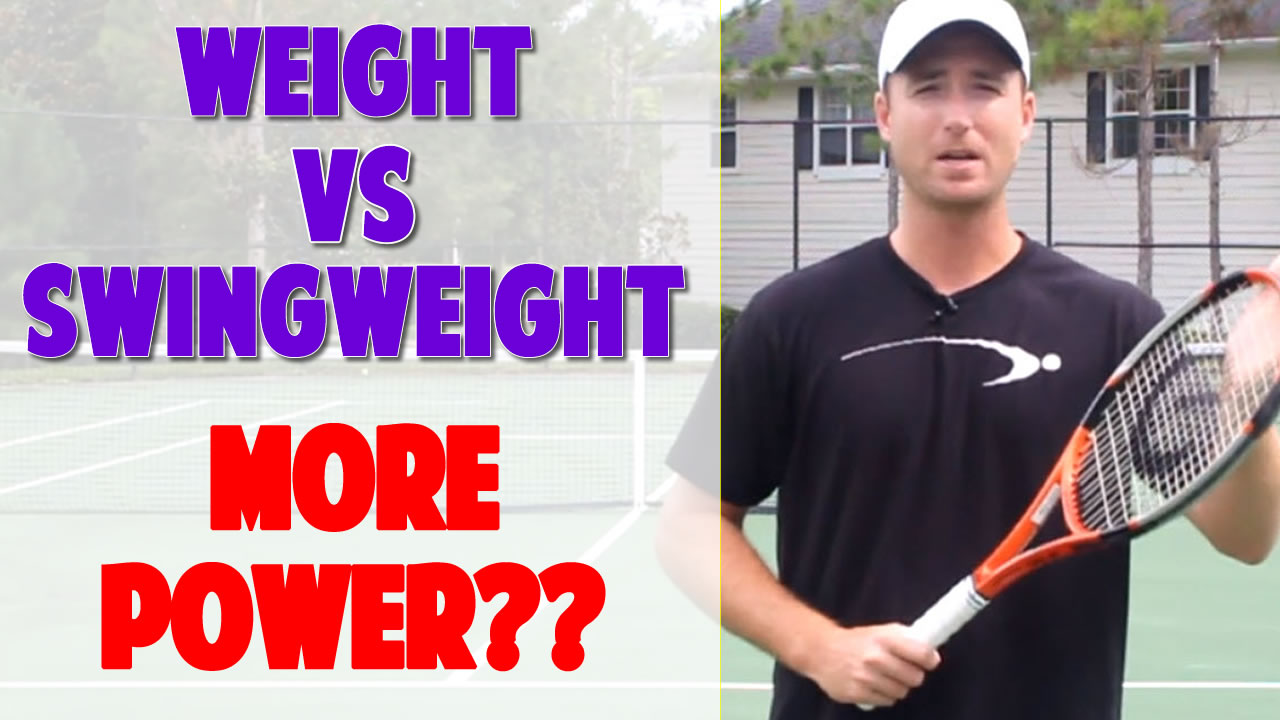 Racket Weight Vs Swing Which Adds More Power Parts Of A Tennis Racquet Detailed Description And Diagram