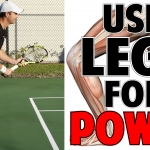 Tennis Forehand and Backhand