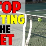 How To Stop Hitting Into the Net In Tennis
