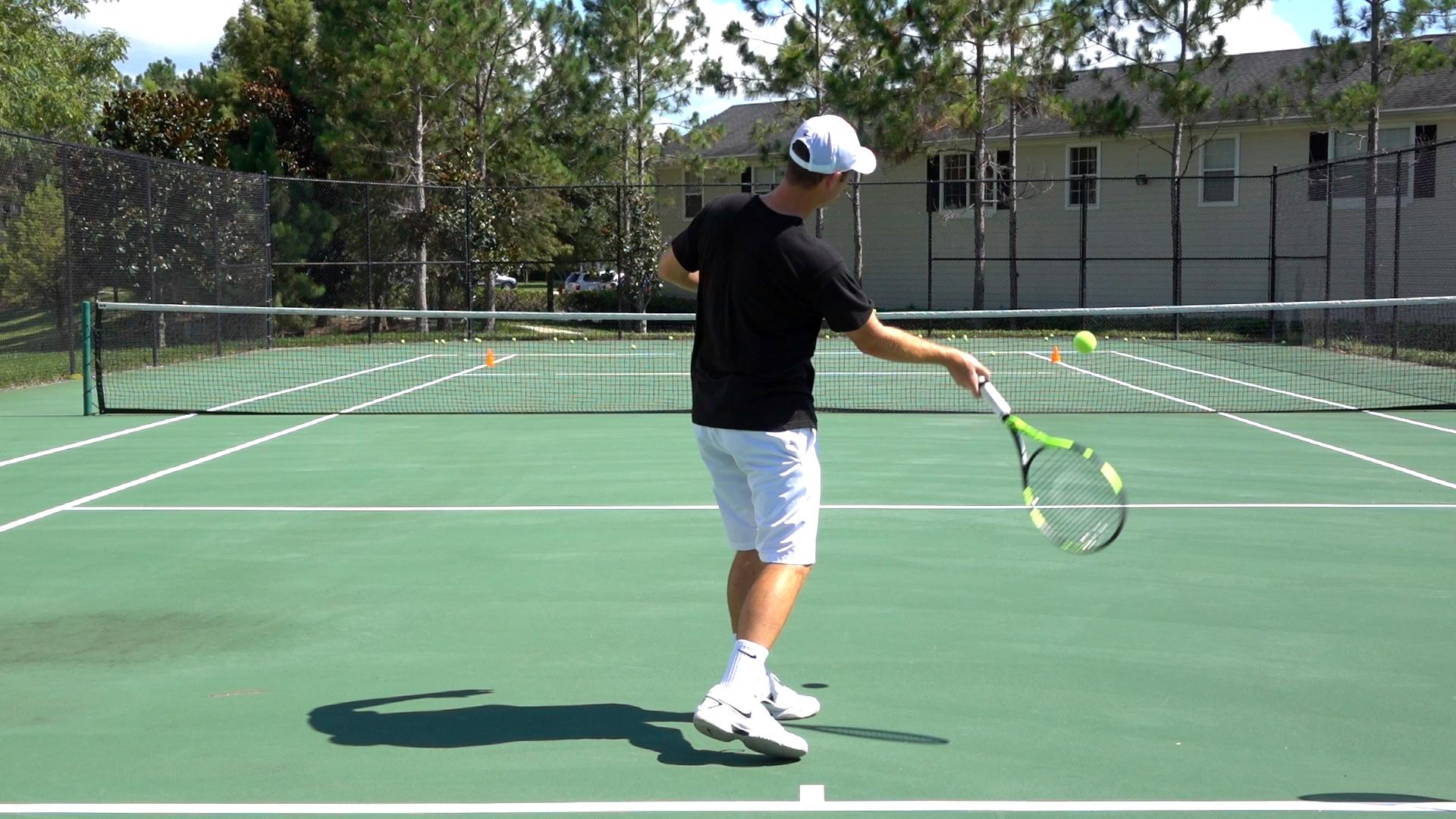 Vorhand Tennis