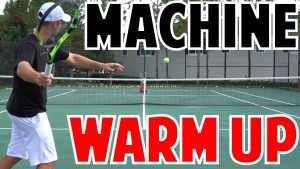 Best Tennis Ball Machine Practice Warm up