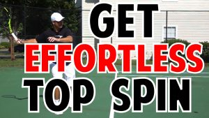 How to Get Effortless Topspin On Your Tennis Ground Strokes
