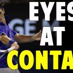 eyes at contact