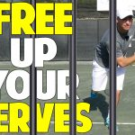 Free up Your Serve with the Foot Swivel