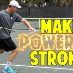Hitting Powerful Strokes When Rushed