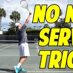 Serve Trick to Stop Hitting into the Net